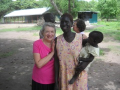 Renewing a past friendship with Elizabeth who cooks for the teachers