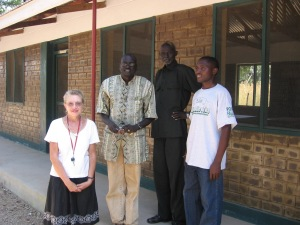 Some of the first teaching staff of Hope and Resurrection Secondary - 2008